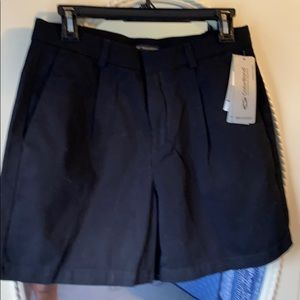 Dockers size 10 black shorts